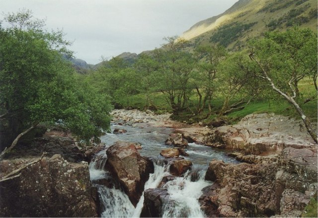 Waterfall at Achriabhach, Glen Nevis