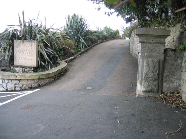 Entrance to Haulfre Gardens