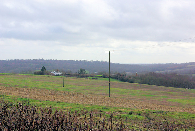 View towards Dodhurst