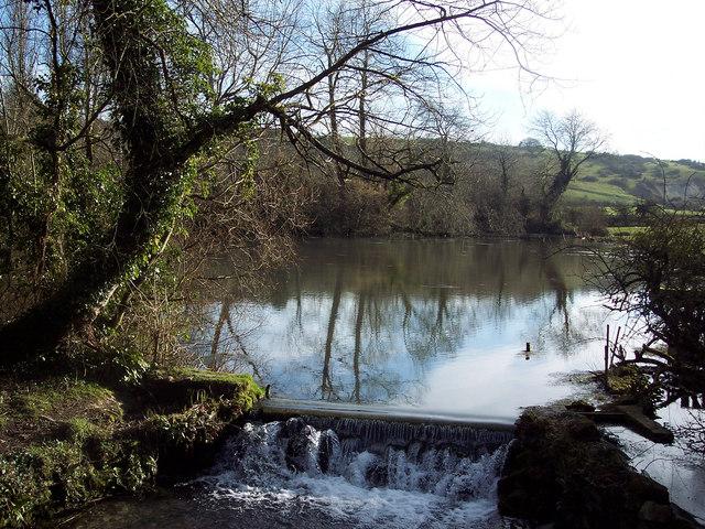 Pond near West Farm, Fovant
