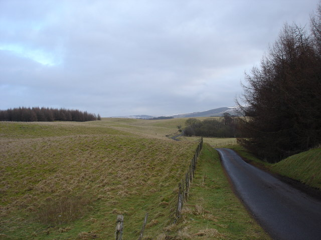 Kame and Kettle Topography near Gleneagles