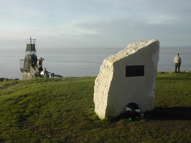 The Seafarers' Memorial, Battery Point, Portishead