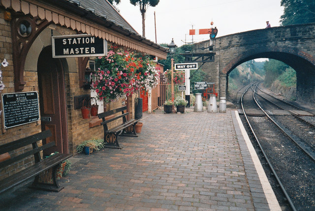 Arley Station on the Severn Valley Railway
