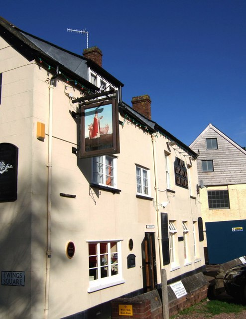 The Bishop Blaize, Exeter