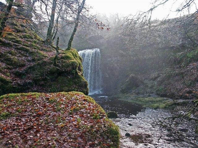 Dalcairny waterfall, Dalmellington