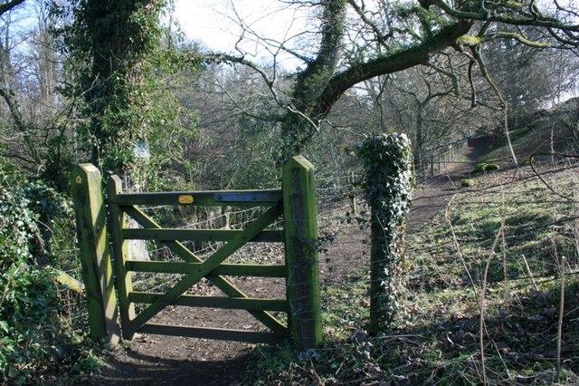 Gate, Riverside Footpath