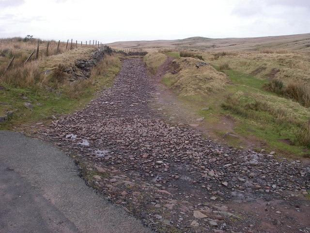 Sarn Helen - a Roman road
