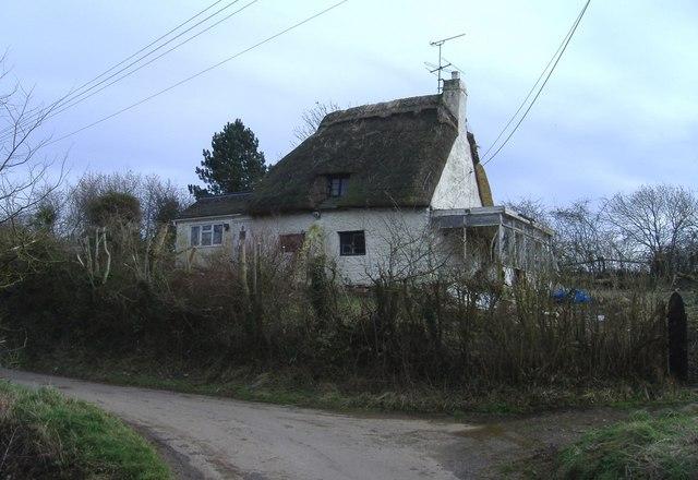 Derelict cottage, Preston
