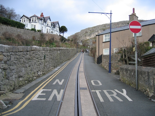 No Entry to the Tramway