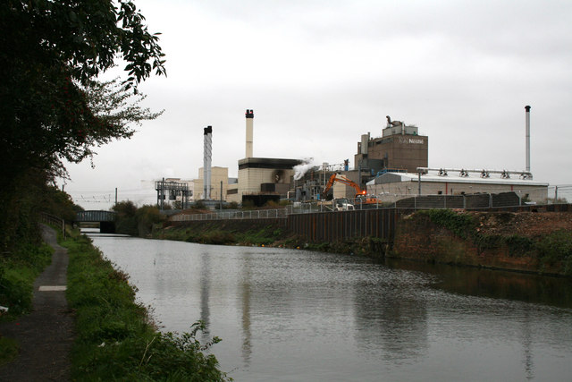 Nestle works, Hayes, Middlesex