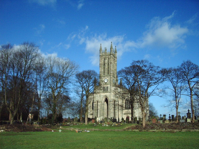 The Parish Church of All Saints, Stand, Whitefield