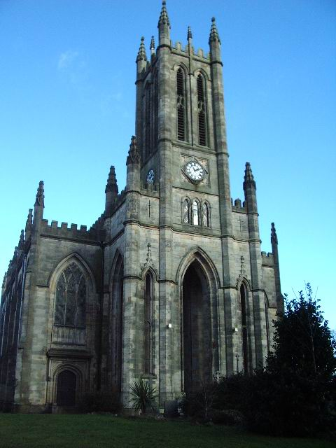 The Tower of All Saints Church, Stand, Whitefield