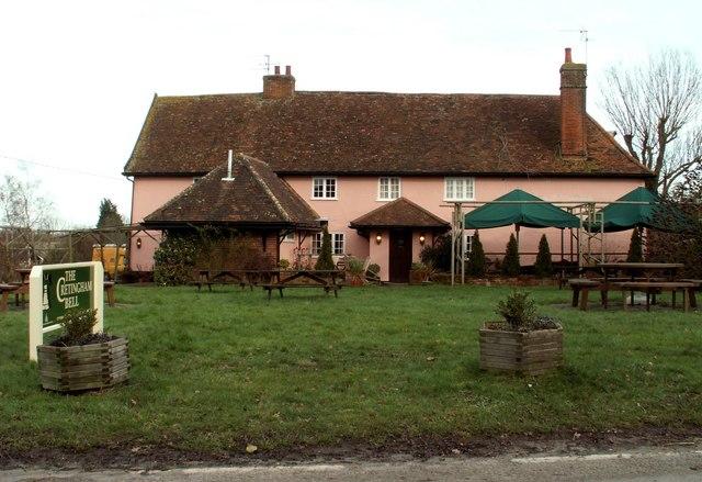 'The Cretingham Bell' inn