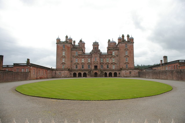 N side of Drumlanrig Castle
