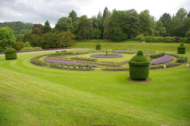 Gardens, Drumlanrig Castle