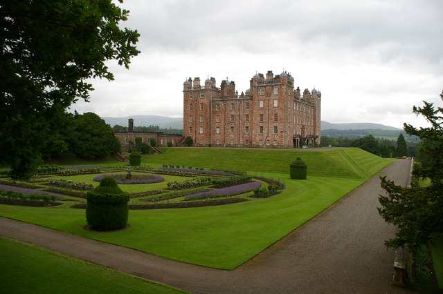 W and S sides of Drumlanrig Castle