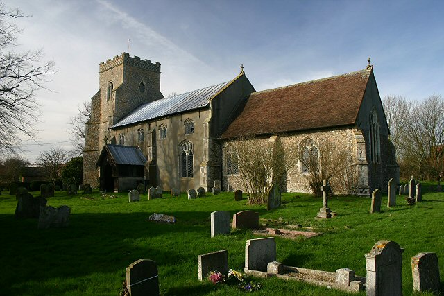 Wyverstone Church, Suffolk