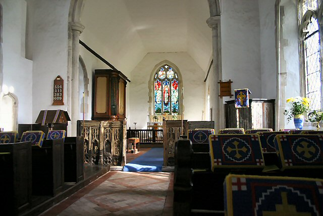 Wyverstone Church interior
