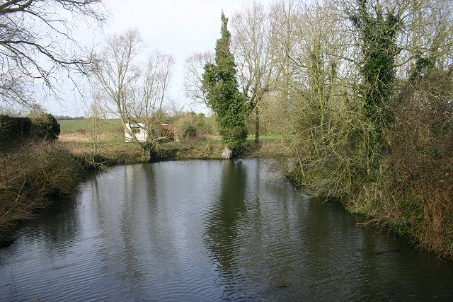 Moat of Westhorpe Hall