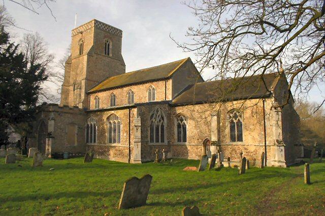 Westhorpe Church, Suffolk