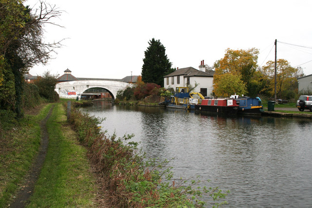 Bulls Bridge, Paddington Arm, Grand Union Canal, Hayes, Middlesex