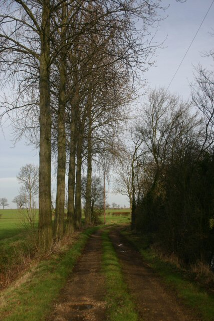Track to Hartshall Farm