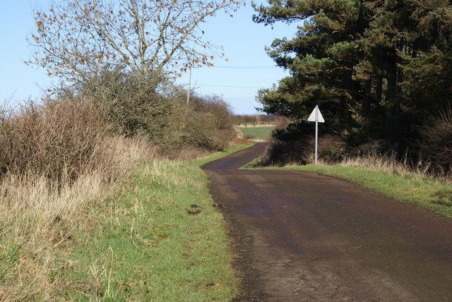 Road at Unthank