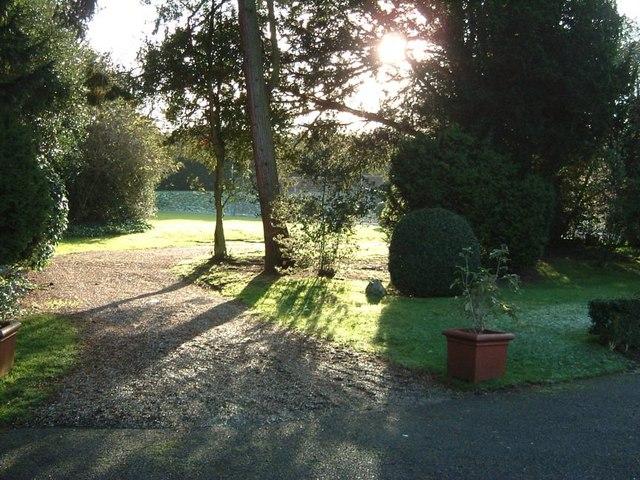 Gardens, Pendley Manor Hotel