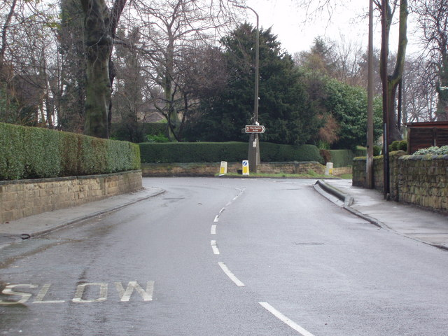 Pontefract Road (A628), High Ackworth