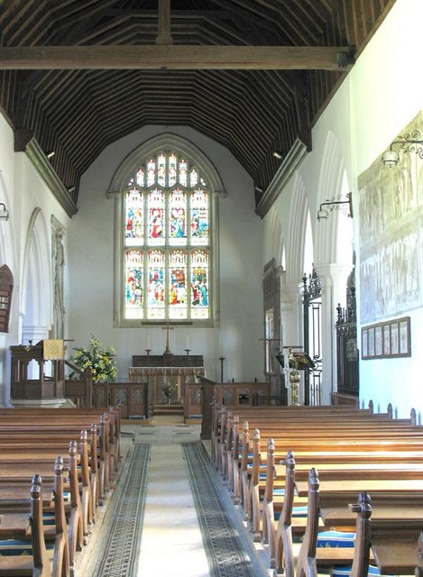 St Mary, Little Easton, Essex - East end