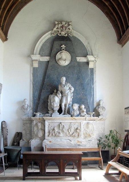St Mary, Little Easton, Essex - Monument