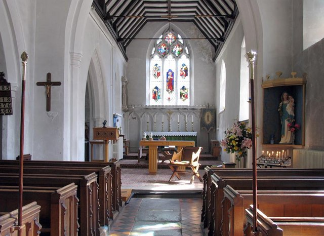 St Mary, Corringham, Essex - East end