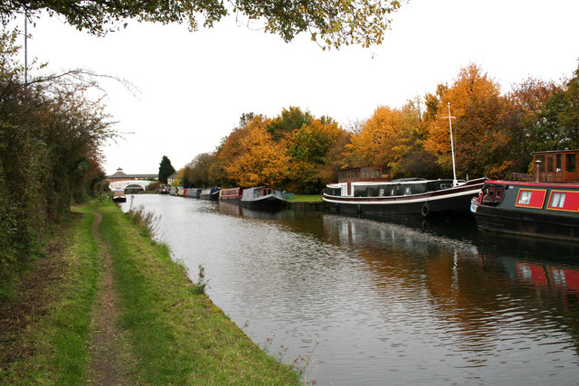 Paddington Arm, Grand Union Canal, Hayes, Middlesex