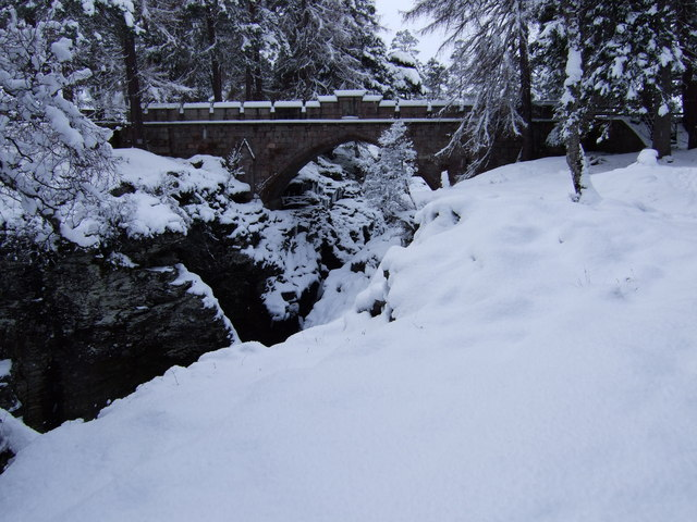 The Bridge at the Linn of Dee