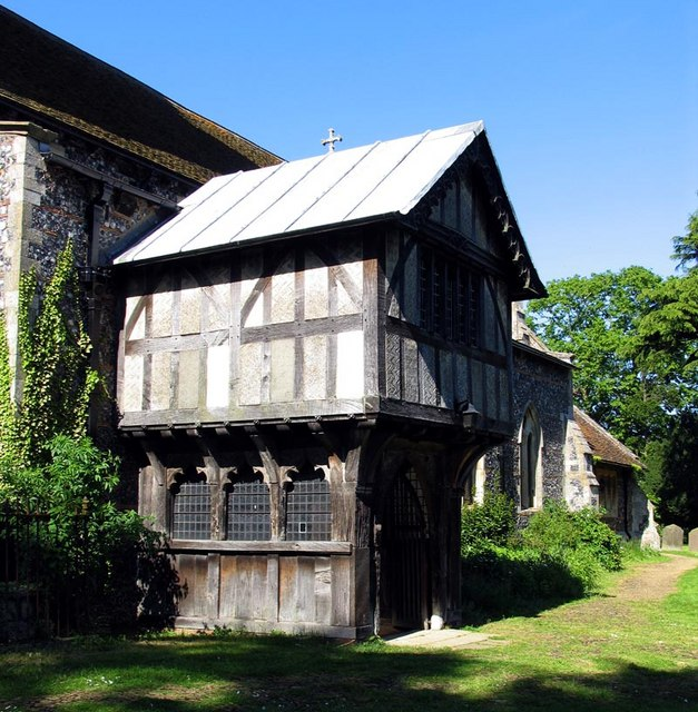 St Mary the Virgin, Radwinter, Essex - Porch