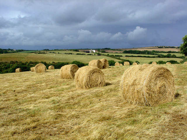 Summer Storm over Rooke Farm