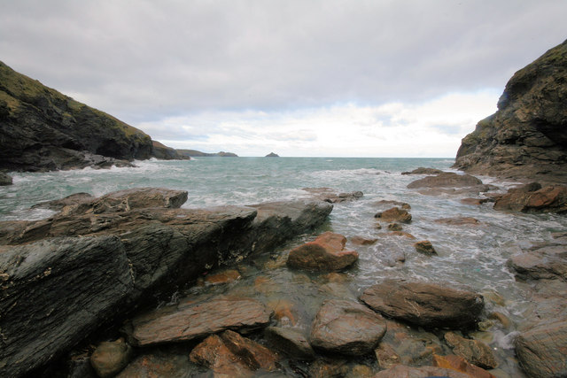Epphaven Cove at High Tide
