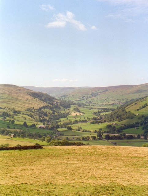 Swaledale from Whitaside