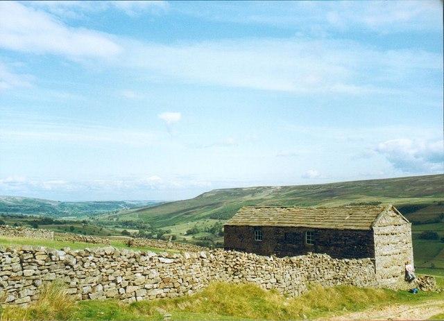 Barn and walls at Blades