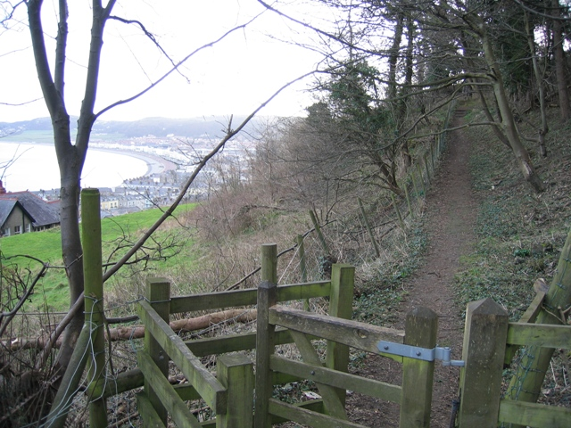 Rofft Gate Footpath and View