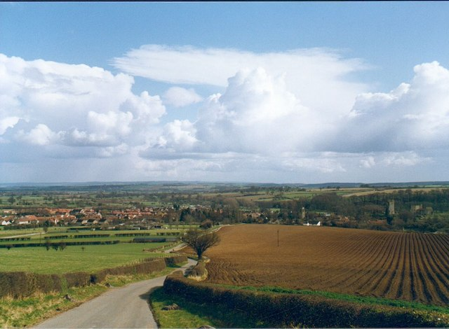 View towards Helmsley