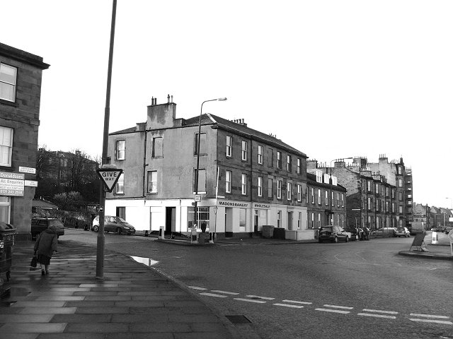 Street corner, Newhaven