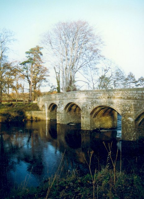Kilgram Bridge & the River Ure