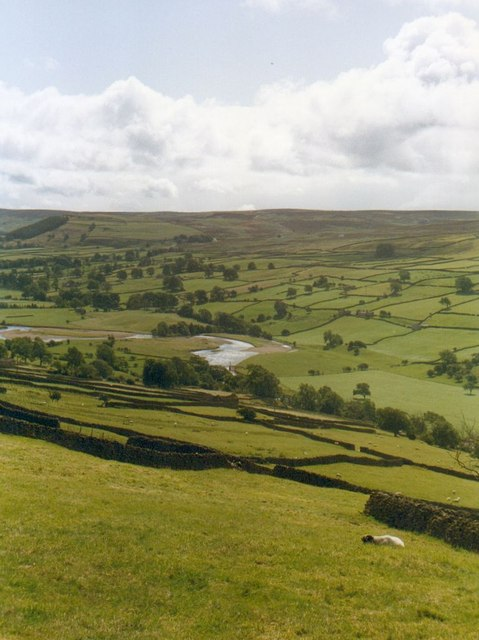 Daleside pastures near Riddings