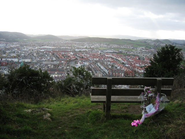 Seat with a View of Llandudno