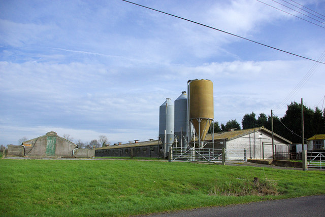 Silos at  Oaktree Farm