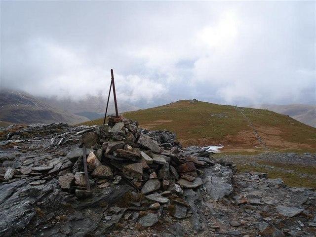 Summit of Beinn Chuirn, looking west