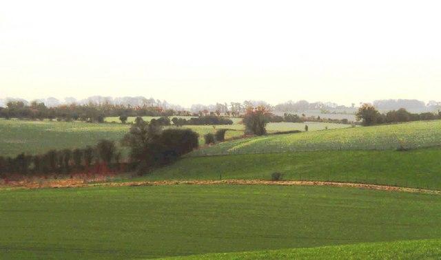 Sutton Downs south of Sutton