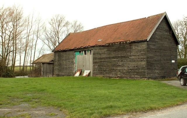 Old barn at Bridge Farm