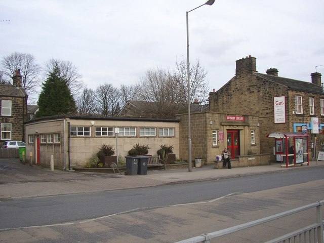 Library, Otley Road, Guiseley